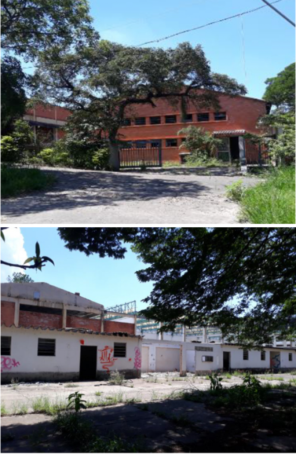 Complexo industrial em Campinas