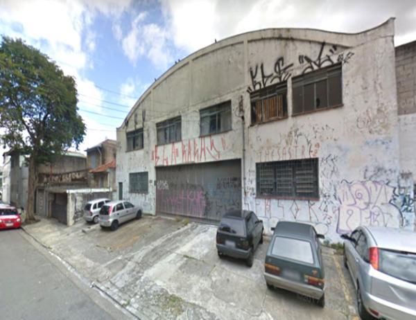 Galpão construído em Santo André