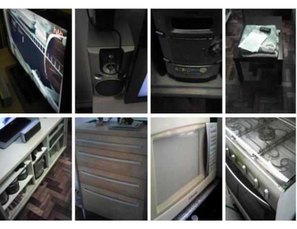 TV, Rack, Microondas e diversos