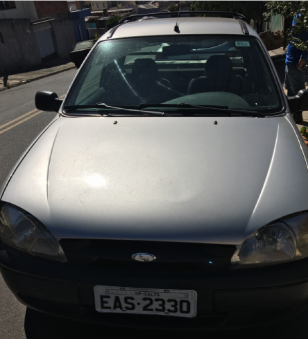 Ford Courier L 1.6 FLEX, ano 2008